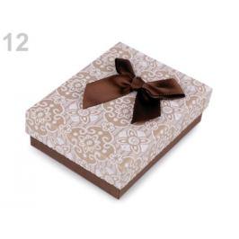 Krabička 7x9 cm hnedá 4ks Stoklasa