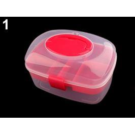 Plastový box / kufrík pink 1ks Stoklasa