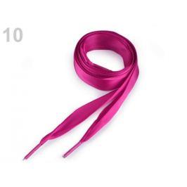 Saténové šnúrky do topánok, tenisiek a mikin dĺžka 110 cm pink 2ks Stoklasa