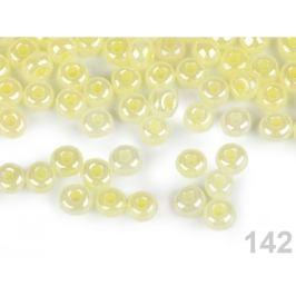 Rokajl 6/0 - 4 mm perleťový, nepriehľadný krémová sv. 1sáčok Stoklasa