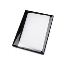 Bavlnená vreckovka do saka v krabičke biela 1ks Stoklasa