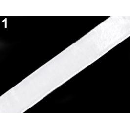Sametová stuha šírka 9 mm biela 3m Stoklasa