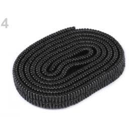 Koženková guma plochá šírka 10 mm čierna 1m Stoklasa