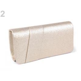 Kabelka - lístoček s lurexom zlatá svetlá 1ks Stoklasa