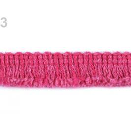 Bavlnené strapce šírka 18 mm pink 18m Stoklasa