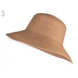Dámsky klobúk na ozdobenie prírodná stredná 1ks Stoklasa