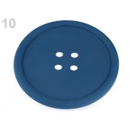 Silikónová podložka gombík Ø12 cm modrá tmavá 1ks Stoklasa