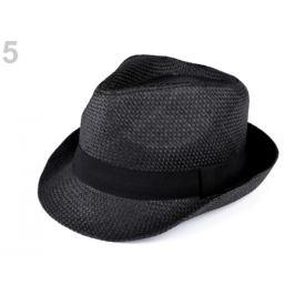 Letný klobúk unisex čierna 1ks Stoklasa