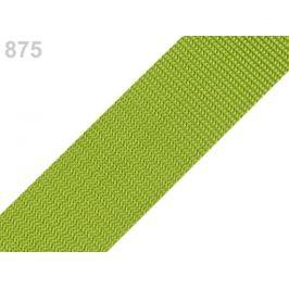Popruh polypropylénový šírka 40 mm typ BX zelená trávová sv. 5m
