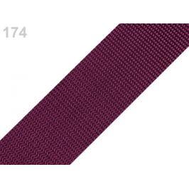 Popruh polypropylénový šírka 40 mm typ BX amarant 5m