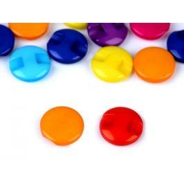 Gombík farebný veľkosť 20