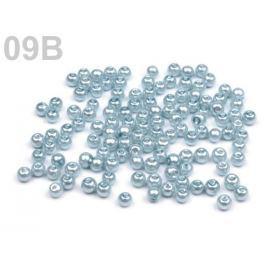 Voskované perly  Ø4mm šedá holubia sv. 2500g Stoklasa
