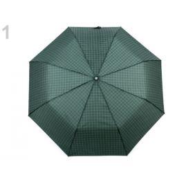 Pánsky skladací vystreľovací dáždnik zelená malachitová 1ks Stoklasa