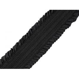 Guma riasená šírka 48 mm čierna 1m Stoklasa