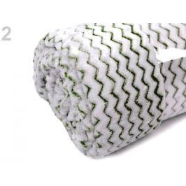 Deka fleece 150x200 cm zelená trávová 1ks Stoklasa