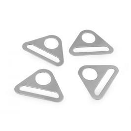 Prievlak trojuholník šírka 40 mm nikel 4ks Stoklasa