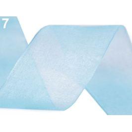 Monofilová stuha šírka 40 mm modrá azuro 22.5m Stoklasa