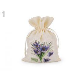 Vrecko s kvetmi 13x18 cm imitácia juty režná svetlá 1ks Stoklasa