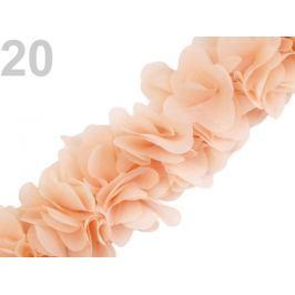 Prámik na filcovej páske šírka 60 mm Apricot Cream 18m Stoklasa