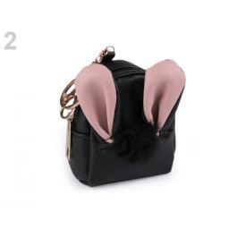 Peňaženka / kľúčenka / púzdro zajac čierna 1ks Stoklasa