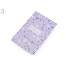 Kozmetické zrkadielko Flowers najsvetlejšia fialová 1ks Stoklasa