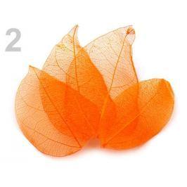 List sieťovaný dekoračný 100ks prírodný oranžová refexná 1sáčok Stoklasa