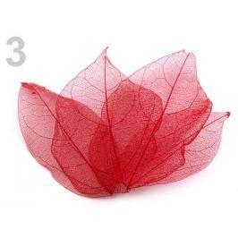 List sieťovaný dekoračný 100ks prírodný červená  1sáčok Stoklasa