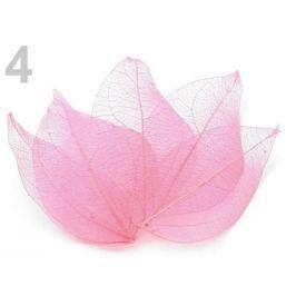 List sieťovaný dekoračný 100ks prírodný ružová svetlá 1sáčok Stoklasa