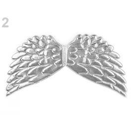 Anjelské krídla 22x44 cm strieborná 1ks Stoklasa