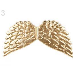 Anjelské krídla 22x44 cm zlatá 1ks Stoklasa