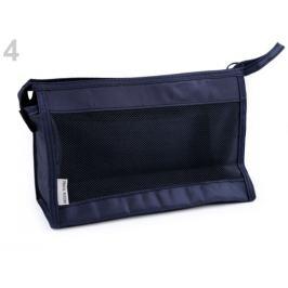 Kozmetická taška 16x26 cm modrá tmavá 1ks Stoklasa