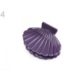 Štipec do vlasov mušľa fialová tm. 1ks Stoklasa