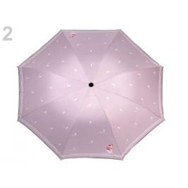 Dámsky skladací dáždnik námornícky pudrová 1ks Stoklasa