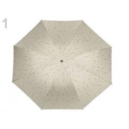 Dámsky skladací dáždnik perlová 1ks Stoklasa