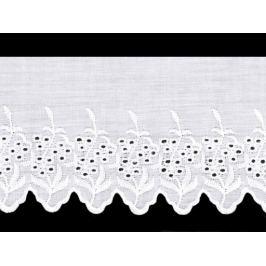 Madeira štykovanie šírka 11,5 cm biela 13.5m Stoklasa