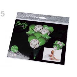 Nafukovacie balóniky s konfetami sada zelená pastelová 1sada Stoklasa