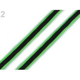 Odevná šnúra s luminous efektom šírka 8 mm Green Yelow 20m Stoklasa