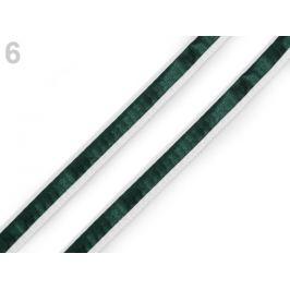 Odevná šnúra s luminous efektom šírka 8 mm olivová tm. 20m Stoklasa