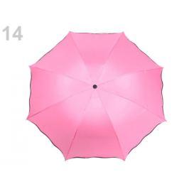 Skladací dáždnik  2. akosť ružová sv. 1ks Stoklasa