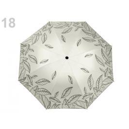 Skladací dáždnik  2. akosť bežova biela 1ks Stoklasa