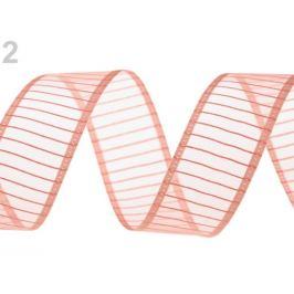 Monofilová stuha šírka 24 mm pudrová 13.5m Stoklasa