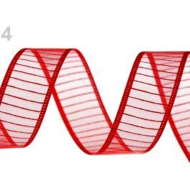 Monofilová stuha šírka 24 mm červená 13.5m Stoklasa