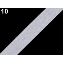 Vzorovka šírka 20 mm biela 25m