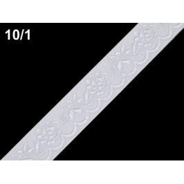 Krojová stuha šírka 20 mm biela 25m