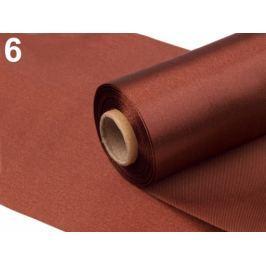 Satén jednostranný šírka 15cm hnedá 9m
