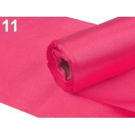 Satén jednostranný šírka 15cm ružová neon 9m