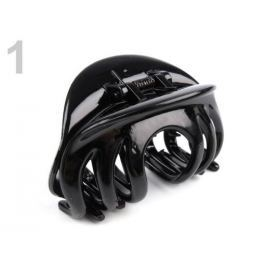 Štipec do vlasov 45x75 mm čierna 6ks Stoklasa