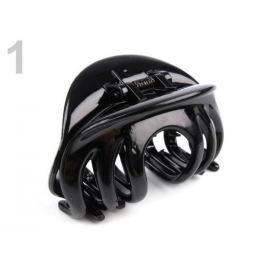 Štipec do vlasov 45x75 mm čierna 12ks Stoklasa