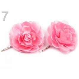 Sponky do vlasov Ø5 cm ružová str. 6ks Stoklasa