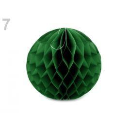 Dekoračná papierová guľa Ø25 cm zelená jedla 10ks Stoklasa